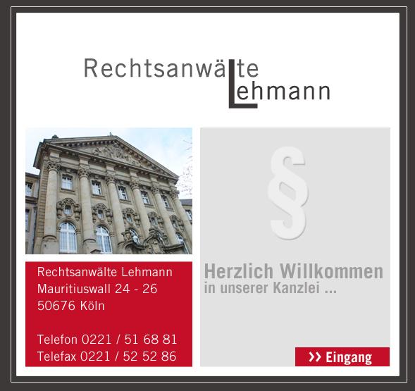 Rechtsanwälte Lehmann In Köln